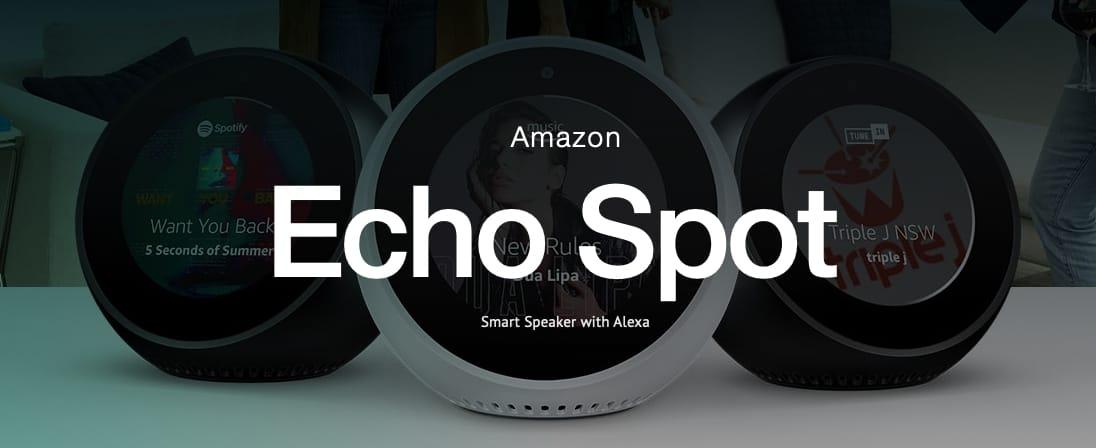 Slide-Amanzon Echo Spot
