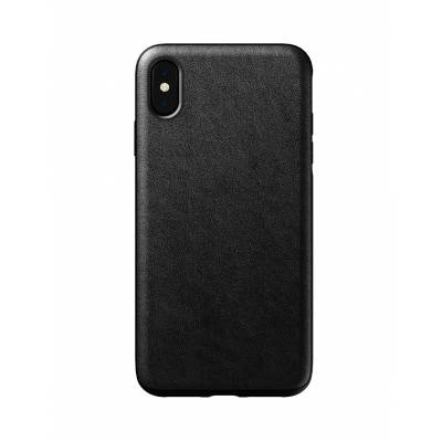 Nomad - Rugged Case for iPhone - Black Leather