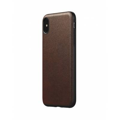 Nomad - Rugged Case V2 for iPhone - Rustic Brown Leather