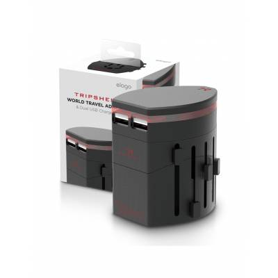 Elago TripShell II Travel Adapter