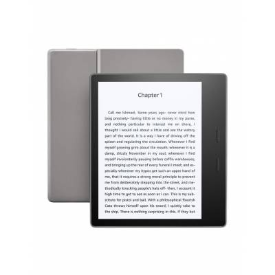 """Amazon - Kindle Oasis E-reader, Waterproof, 7"""" High-res Display 300 Ppi, 8 Gb Wi-fi"""