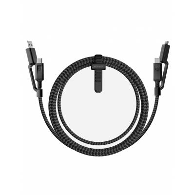 Nomad - 1.5M 4 in 1 Charge/Sync USB C Universal Cable - Black