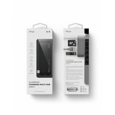 Elago Aluminum Charging Multi Hub USB-C