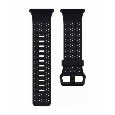 Fitbit Ionic, Accessory Band, Perforated Leather Large