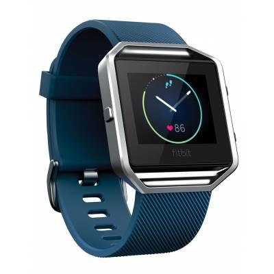 Fitbit Blaze, Blue, Silver, Small, EMEA