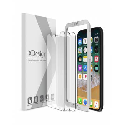 XDesign Tempered Glass Screen Protector for Apple iPhone X