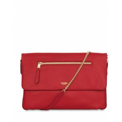 Knomo Elektronista Clutch Leather Bag