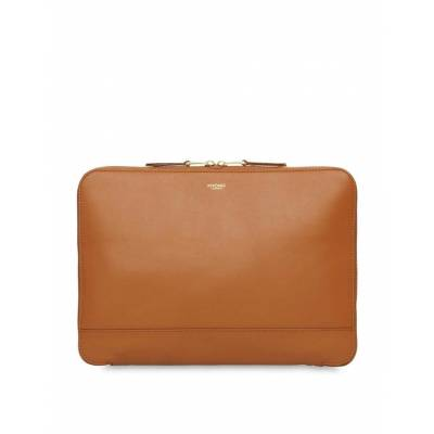 KNOMO USA Mason Leather Clutch Bag
