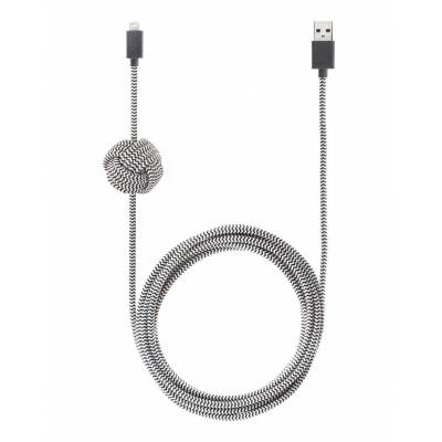 Native Union - NIGHT Cable (Lightning) - Zebra