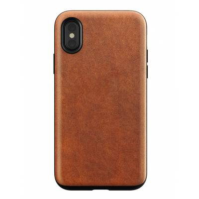 Nomad - Rugged Leather Case for iPhone X